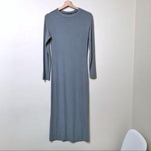 Wi & Co Ribbed Midi Column Dress